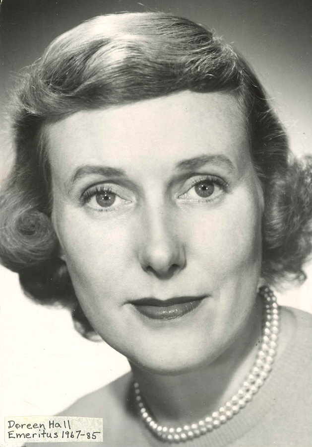 Professor Doreen Hall