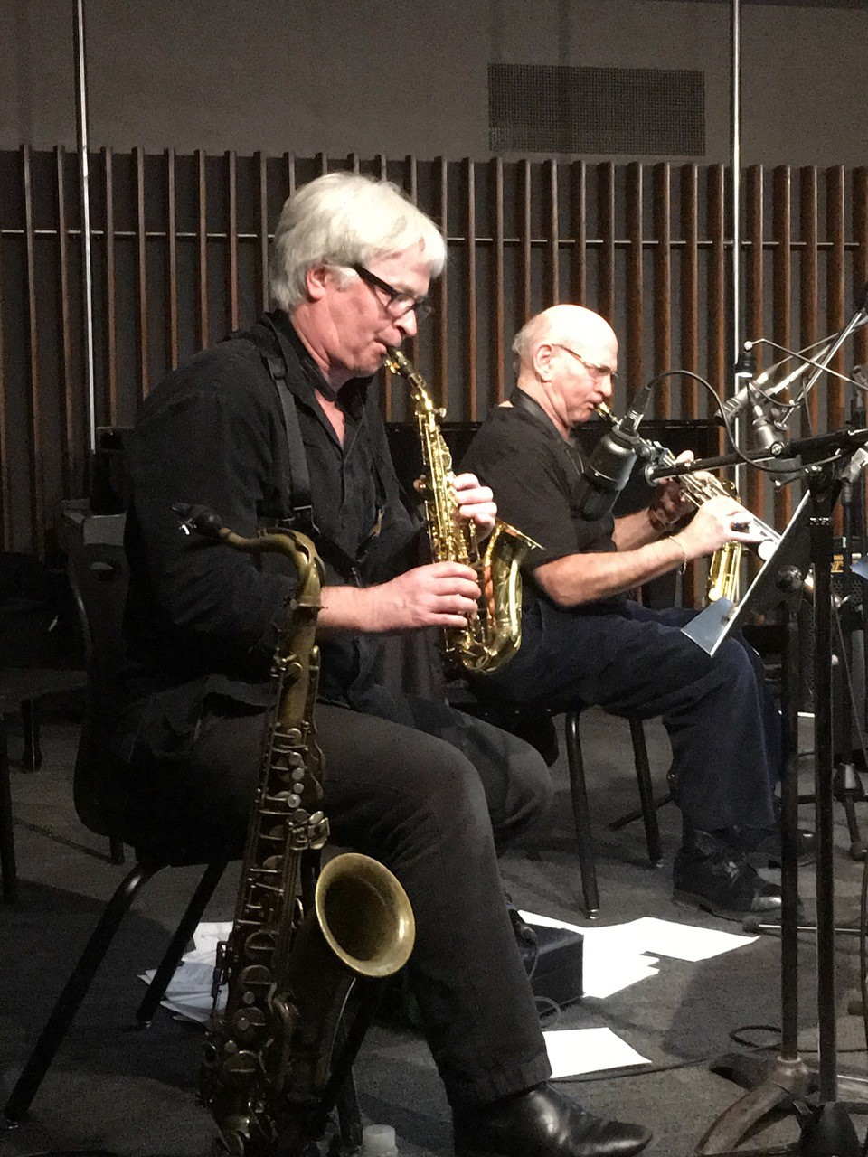 Murley Liebman Live at U of T recording at Upper Jazz Studio Jan 6, 2017