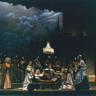 Opera production of Gilbert & Sullivan's Patience, Mach 1981.