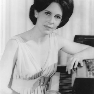 Piano Professor Patricia Parr, promotional photo mid-1970s.