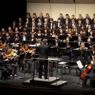UTSO with MacMillan Singers performing Beethoven's Symphony no. 9, conducted by David Briskin, 5 February 2011.