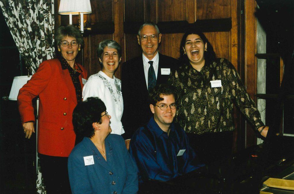 avid Braid John Lawson Marilyn Brown 1999 UTAA event