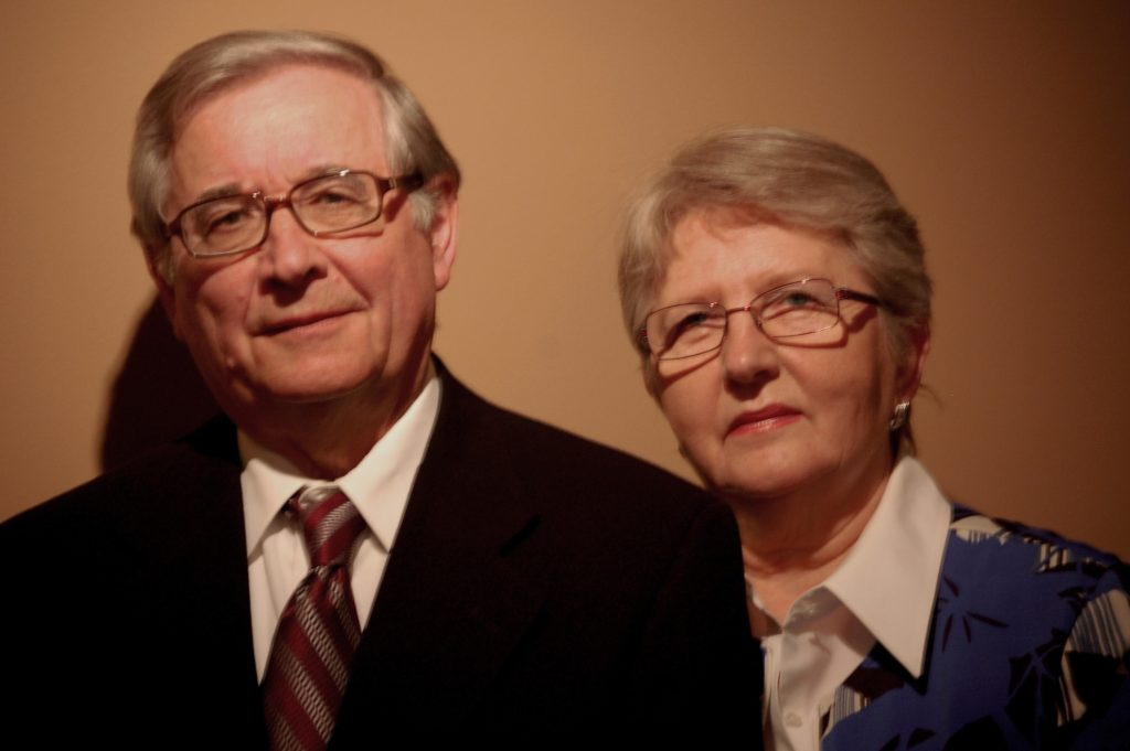 Walter and Danuta Buczynski 2009