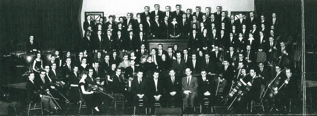 Music Students in Convocation Hall 1959