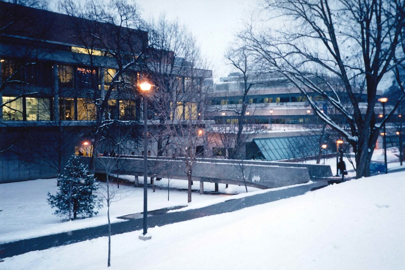 EJB and library from Philosopher's Walk winter late 90s web