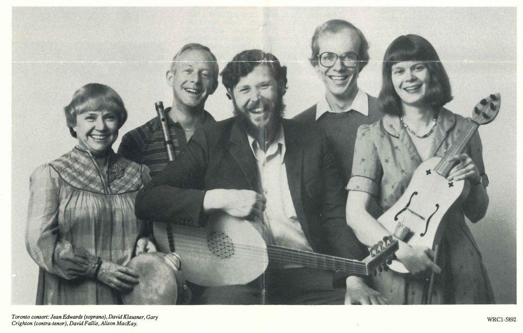 Toronto Consort archive photo