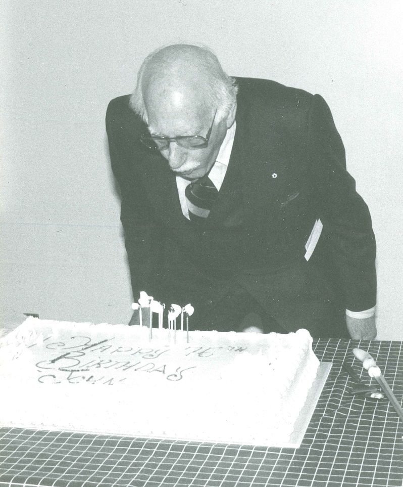 Weinzweig 75th Birthday Party Cake