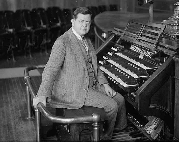 Ernest MacMillan at Organ